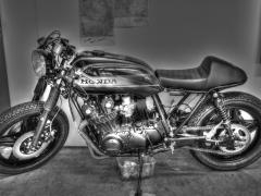 RayZ  Buddyseat Motorzadel Cafe racer