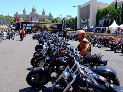 Barcelona Harley Days july 2014