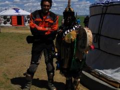 State Mongolia 800 yr festival outside Ulaan Bator